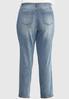 Plus Size Medium Wash Straight Leg Jeans alternate view