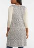 Plus Size Marled Knit Vest alternate view