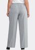 Plus Size Curvy Shape Enhancing Trouser Pants alternate view