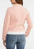 Plus Size Pink Corduroy Jacket alternate view