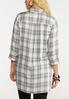 Plus Size Plaid Pullover Tunic alternate view