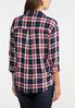 Plus Size Plaid Pullover Top alternate view