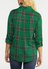 Plus Size Forest Plaid Shirt alternate view