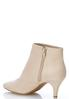 Faux Suede Pointy Toe Booties alternate view