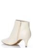 Faux Leather Pointy Toe Booties alternate view