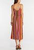 Citrus Stripe Slip Dress alternate view