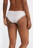 Lace Trim Stripe Panty Set alternate view