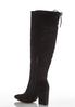 Wide Width Faux Suede Tall Boots alternate view
