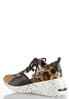 Leopard Mix Wedge Sneakers alternate view