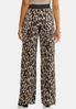 Micro Pleated Leopard Pants alternate view