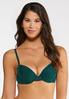 Plus Size Navy And Green Bra Set alternate view