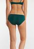 Plus Size Navy And Green Panty Set alt view