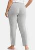 Plus Size Lace Trim Sleep Pants alternate view