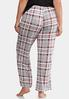 Plus Size Perfectly Plaid Sleep Pants alternate view