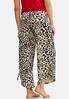Leopard Fleece Lounge Pants alternate view