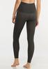 Plus Size The Perfect Charcoal Leggings alternate view