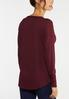 Plus Size Mixed Knit Tunic Top alternate view