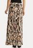 Leopard Maxi Print Skirt alternate view