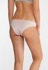 Plus Size Pink Gray Lace Panty Set alt view