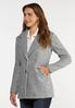 Plus Size Outerwear Coat alt view