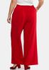 Plus Size Tie Front Palazzo Pants alternate view
