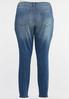 Plus Size Medium Wash Jeggings alternate view