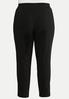 Plus Size Bling Ring Black Pants alternate view