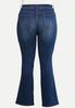 Plus Petite The Perfect Bootcut Jeans alternate view
