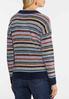 Stripe Chenille Sweater alternate view