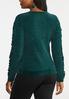 Green Chenille Sweater alternate view