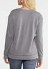 Plus Size Blessed Heart Sweatshirt alternate view
