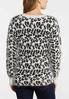 Leopard Eyelash Sweater alternate view