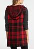 Buffalo Plaid Hooded Vest alternate view