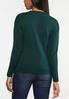 Green Cable Knit Sweater alternate view