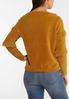 Chenille Fringe Sweater alternate view