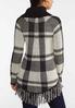 Plaid Cowl Neck Sweater alternate view