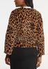 Leopard Faux Fur Jacket alternate view