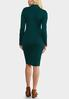 Plus Size Ladder Sleeve Sweater Dress alternate view