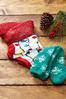 Cozy Christmas Light Socks alternate view