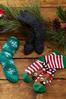 Reindeer Striped Socks alternate view
