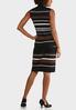 Striped Sweater Dress Set alternate view