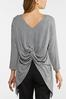 Reversible Twisted Top alt view