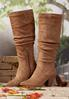 Faux Suede Scrunch Boot alternate view