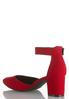 Wide Width Two Piece Ankle Strap Pumps alternate view