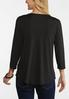 Plus Size Cutout Ribbed Top alternate view