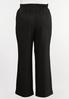 Plus Size Belted Wide Leg Pants alternate view