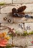 Faux Leather Cross Necklace alt view