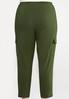 Plus Size Button Fly Utility Pants alternate view