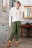 Plus Size Button Fly Utility Pants alt view