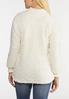 Plus Size Cozy Fleece Pullover Top alternate view